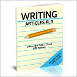 Writing Articles PLR