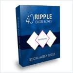 40 Ripple Quote Boxes with Relationship PLR