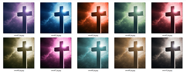 Christianity Verse Backgrounds