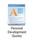 50 Personal Development Quotes - Text Format