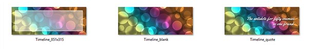 Bokeh Timeline Covers
