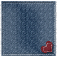 Denim Heart PLR Quote Preview