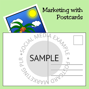 Postcard Marketing - Sample Quote Box